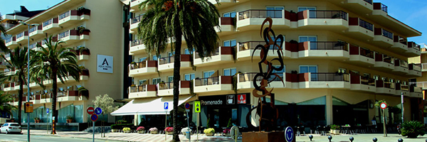 Een impressie van Aqua Promenade