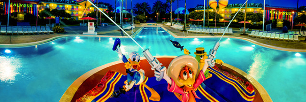 Een impressie van Disney's All Star Music Resort