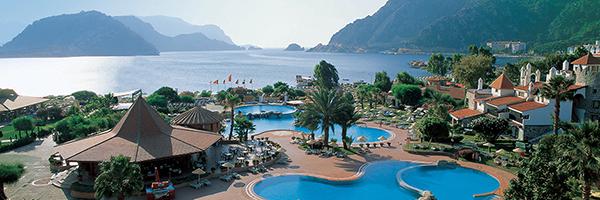 Een impressie van Marti Resort Marmaris