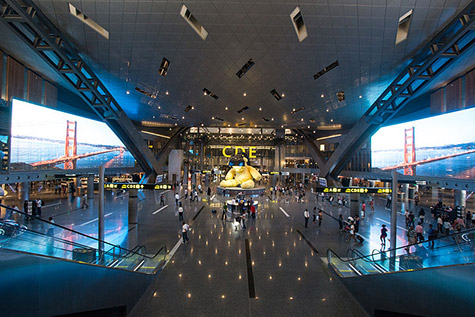 Luchthaven hamad qatar lees meer over dit vliegveld op royal for Interieur qatar airways